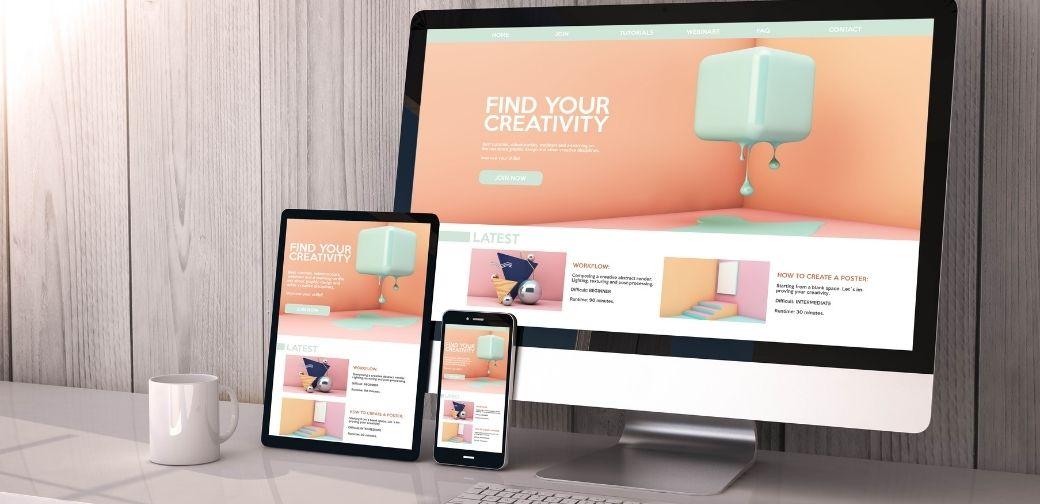 strony internetowe do prezentacji